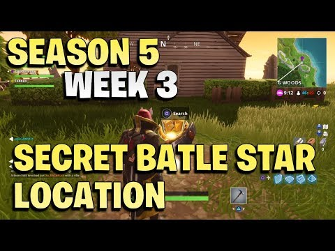 Fortnite Secret Battle Star Week 3 -  Season 5