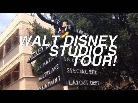 Walt Disney Studio's Tour!