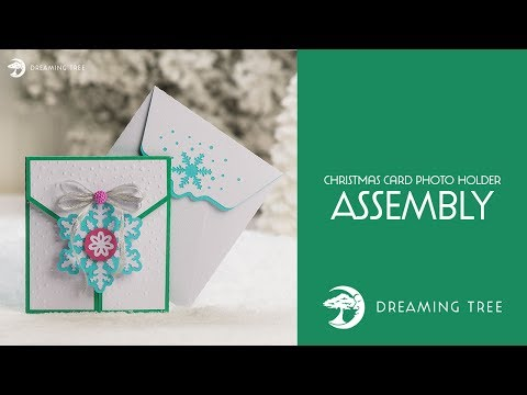 SVG File - Christmas Card Photo Holder - Assembly Tutorial