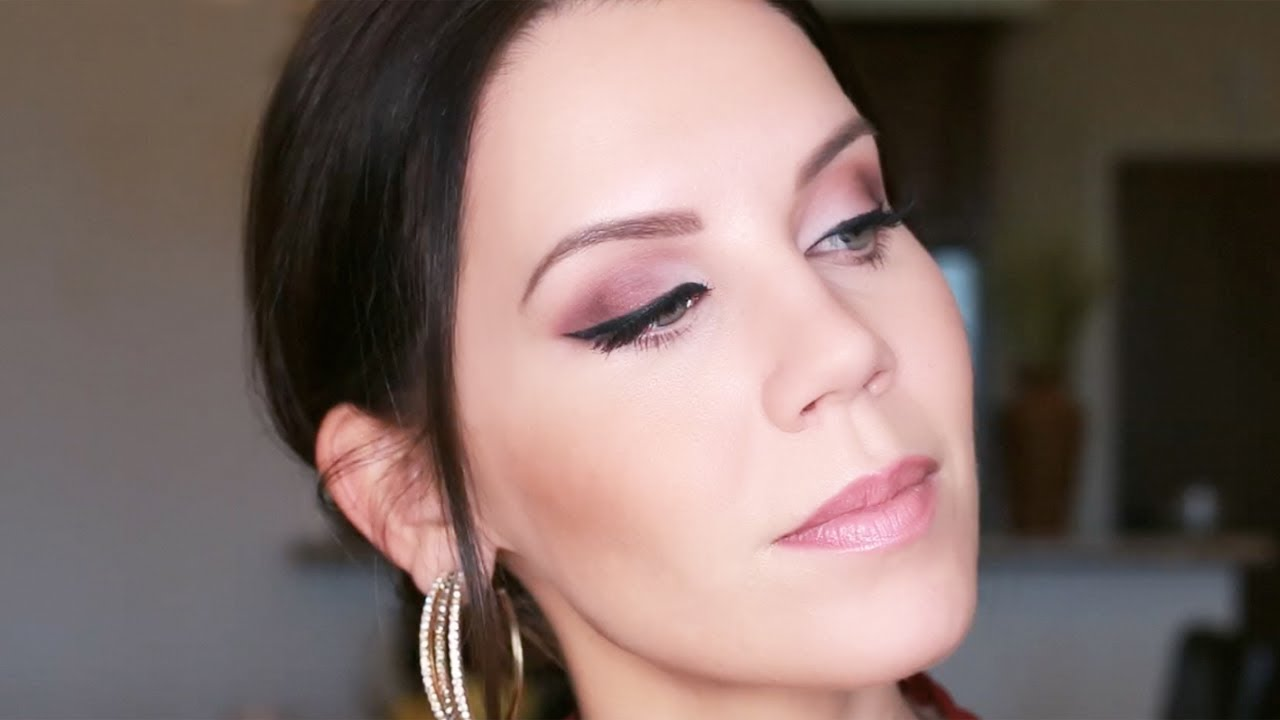 Tutorial Cranberry Eye Look Matte Makeup Youtube