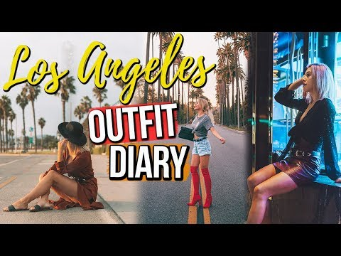 Los Angeles Outfit Diary | A Week In Outfits | Laura Reid
