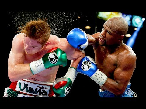 Floyd Mayweather Jr. vs Canelo Alvarez - Highlights (Mayweather SCHOOLS Canelo)