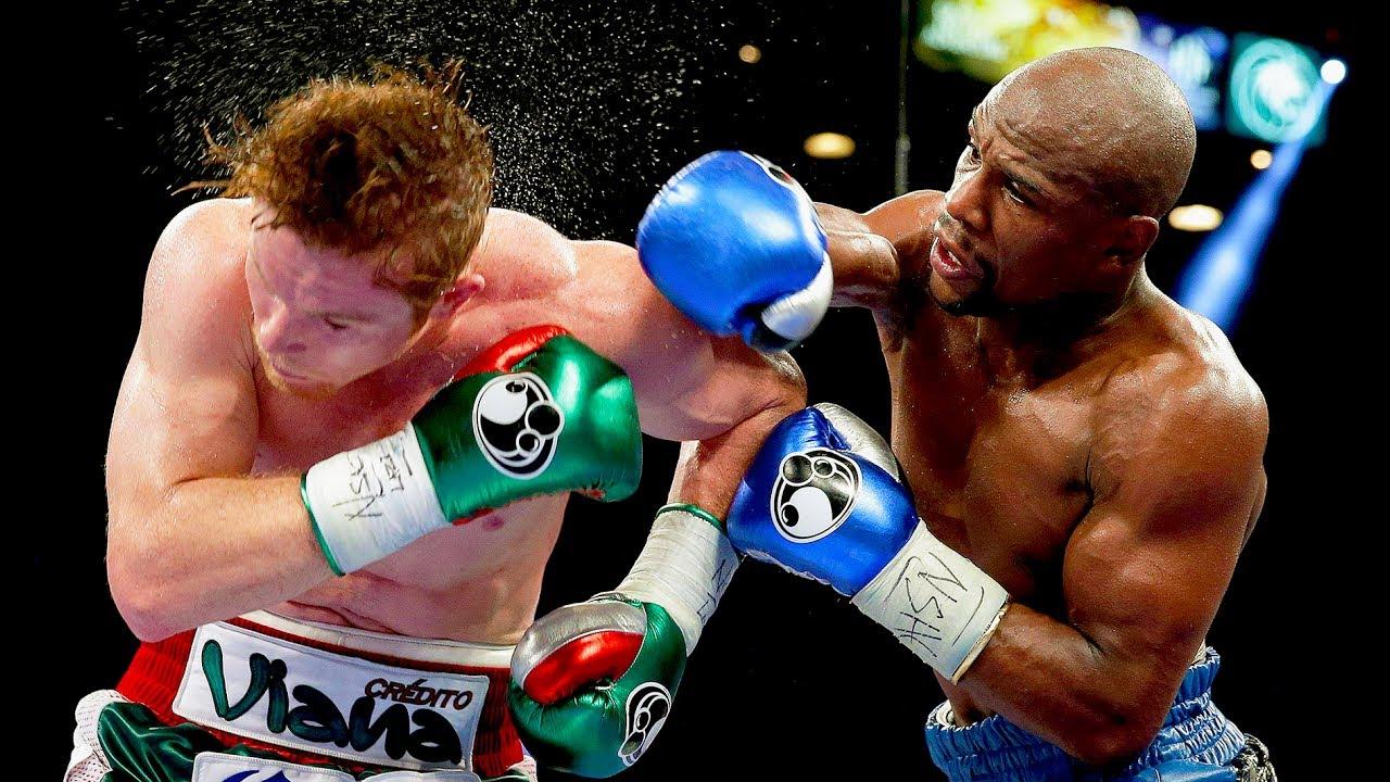 Floyd Mayweather Jr. vs Canelo Alvarez - Highlights (Mayweather ...
