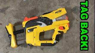 TAG BACK! - The Nerf N-Strike Firefly REV-8 | Walcom S7