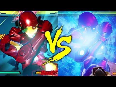 MVC3 vs MVCI - Iron Man