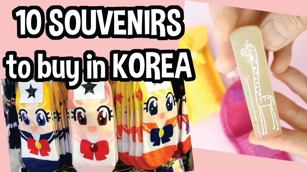 aeb43c8af1 Top 10 Souvenirs to Buy in Korea - YouTube