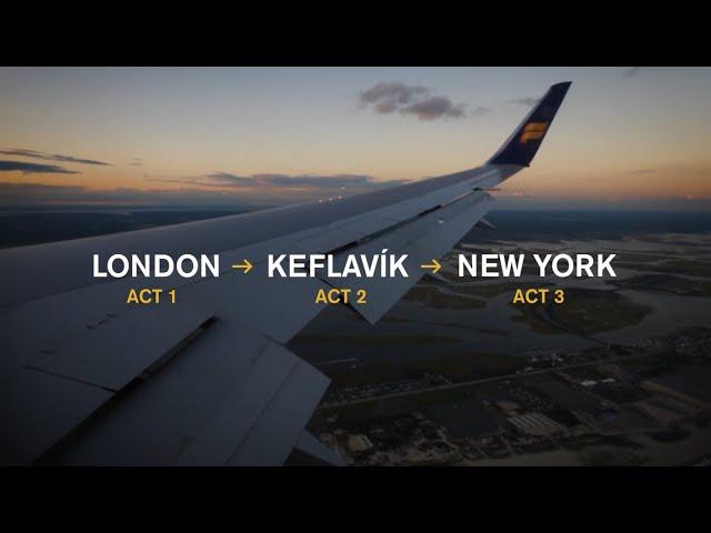 World's 1st immersive theatre show aboard a transatlantic flight for IcelandAir