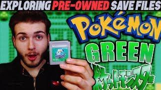 JAPANESE POKEMON GAMES! | EXPLORING PRE-OWNED SAVE FILES! – 'Pokemon Green' (JAPAN EXCLUSIVE)