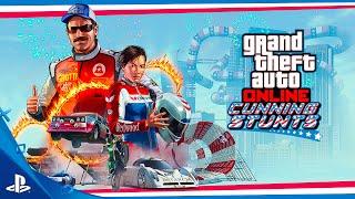 GTA Online - Cunning Stunts Trailer | PS4