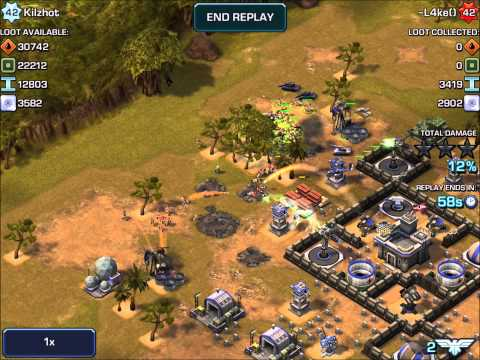 Empires & Allies Mobile - AWESOME DEFENSE