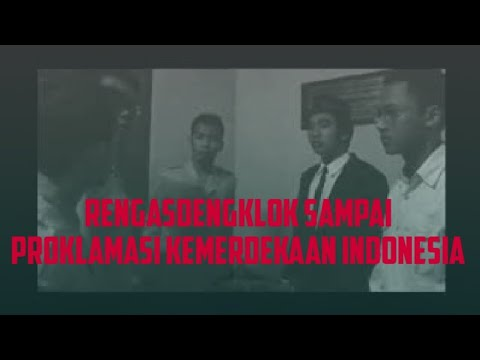 Peristiwa Rengasdengklok sampai Proklamasi Kemerdekaan INDONESIA - Film versi 3 - YouTube