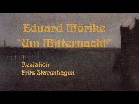 """Eduard Mörike """"Um Mitternacht"""" I"""