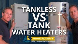 Tankless vs Regular Water heater: What is the difference