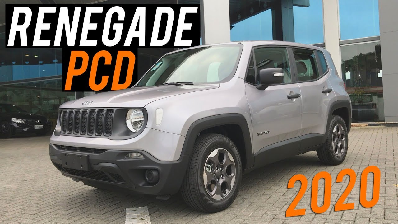 Avaliacao Novo Jeep Renegade Pcd 1 8 2020 Curiosidade Automotiva Youtube