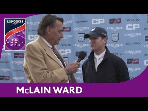 Mclain Ward - Interview - NAL - Longines FEI World Cup™ Jumping - Wellington