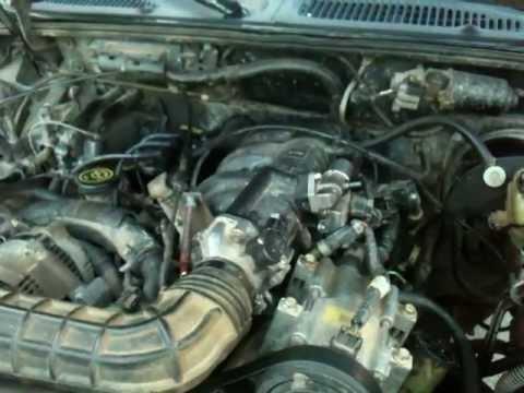 Motor Ford Explorer 1996 40 V6 EFI - YouTube