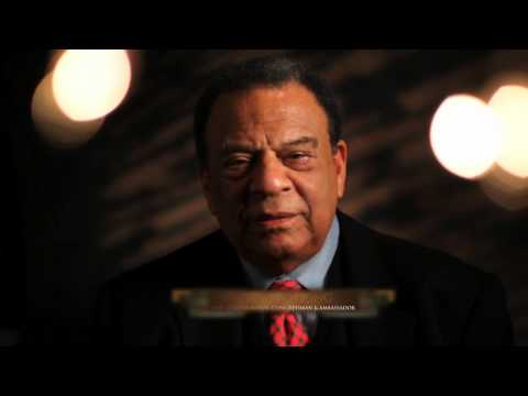 Saluting Black History Month: Ambassador Andrew Young