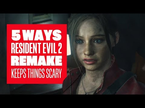 5 Ways Resident Evil 2 Remake Keeps Things Scary - Resident Evil 2 Remake Ada Claire Leon Gameplay