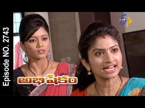 Abhishekam   1st November 2017   Full Episode No 2743   ETV Telugu
