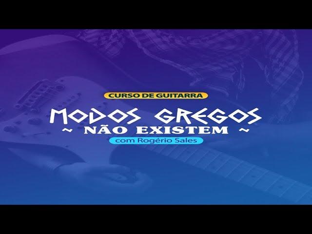 Modos Gregos Não Existem!