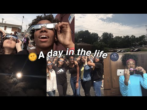 🌞A DAY IN THE LIFE // SOLAR ECLIPSE EDITION🌚