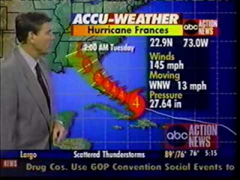 Hurricane Frances Tampa Wayne Shattuck WFTS TV-2004