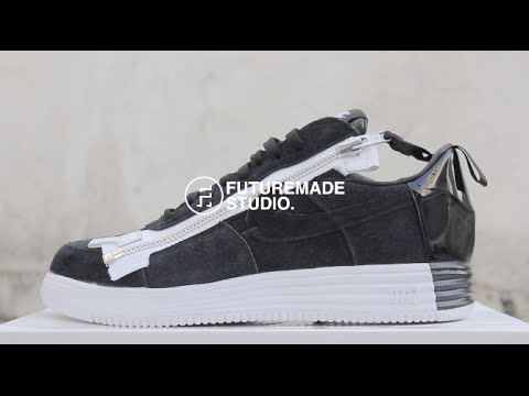 "小屁孩 球鞋開箱- Nike Lab Lunar Force 1 ""Acronym"""