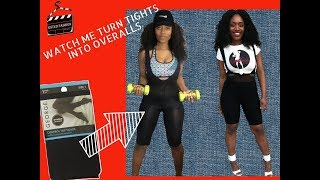 DIY: How to Turn your Old Tights into Overalls!