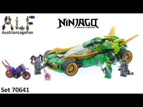 Lego Ninjago 70641 Ninja Nightcrawler - Lego Speed Build Review