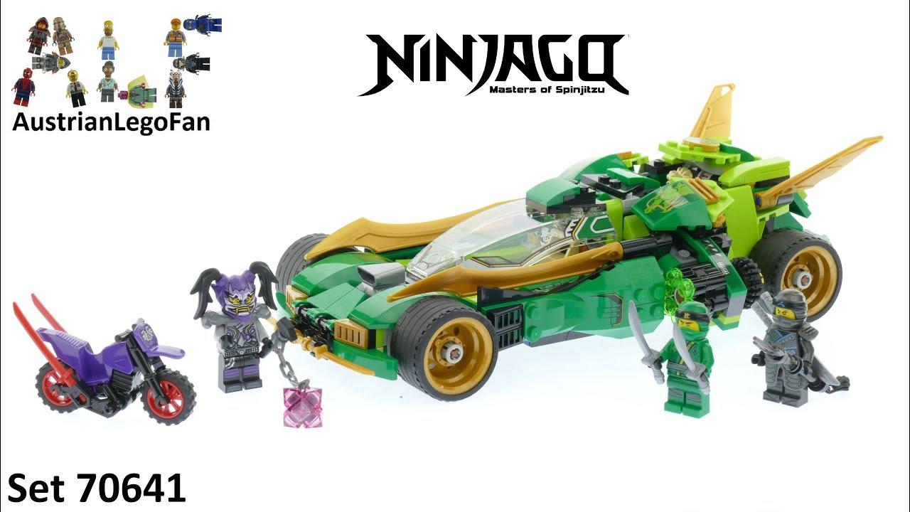 Lego Ninjago 70641 Ninja Nightcrawler Lego Speed Build Review