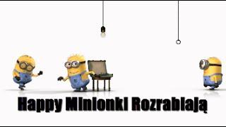 Pharrell Williams Happy Minionki Rozrabiają