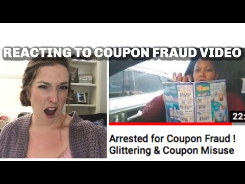 My Reaction To One Cute Couponer | Coupon Fraud