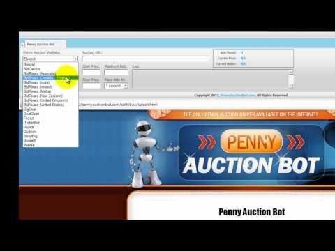 Penny Auction Bot Demo - The only penny auction sniper available on the internet!