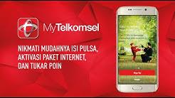 Cara Cek Pulsa Kuota dan SMS Telkomsel via Aplikasi My Telkomsel