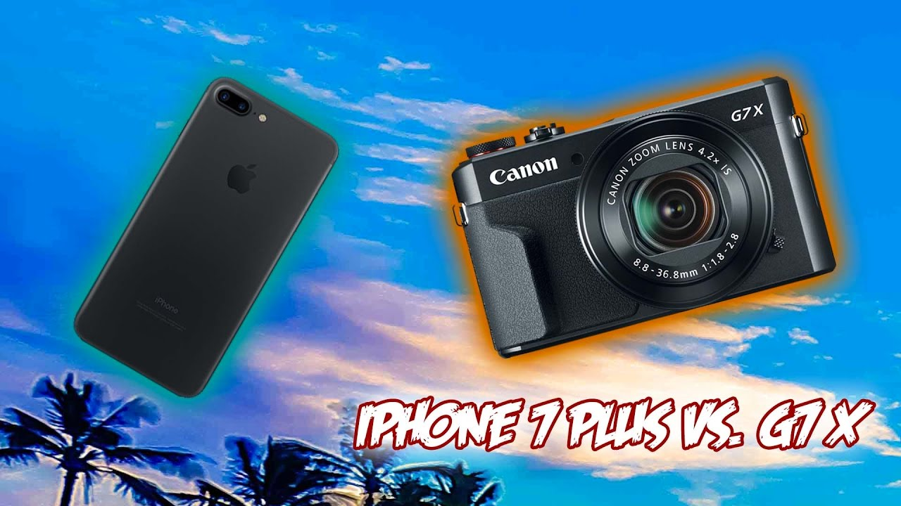 Canon vs iphon 7
