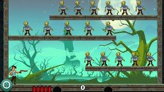 Stupid Zombies Gameplay    Level 1 to 12 screenshot 2