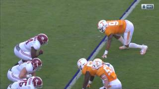 Alabama @ Tennessee, 2016 (in under 32 minutes)