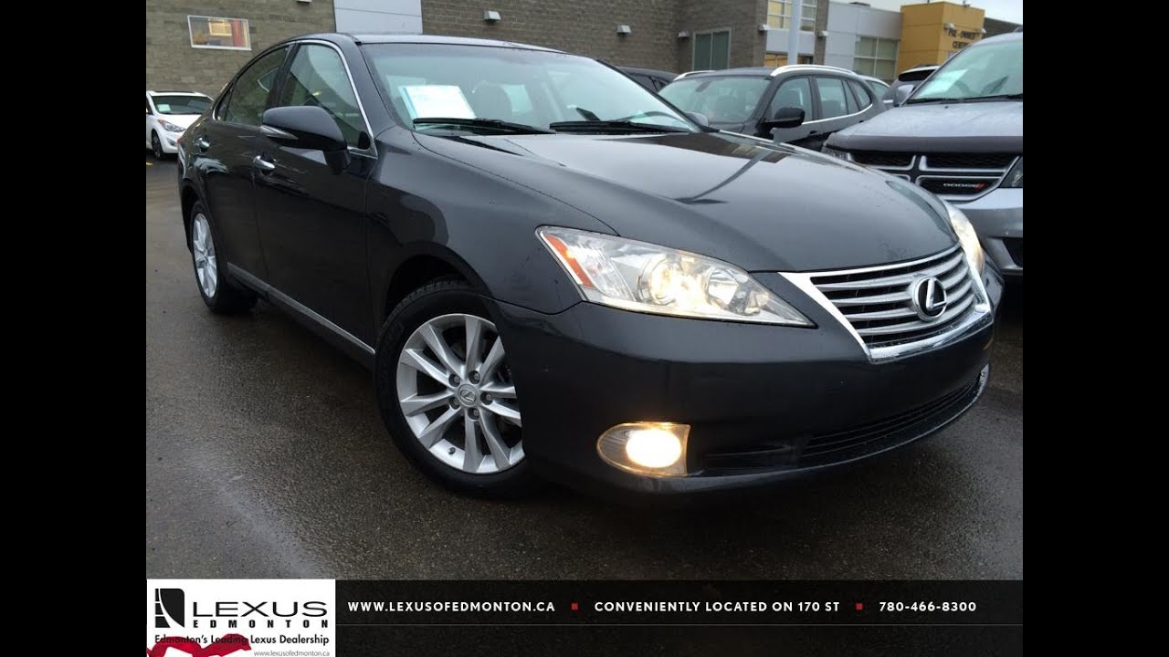Lovely Used Grey 2010 Lexus ES 350 Review | Grande Prairie Alberta