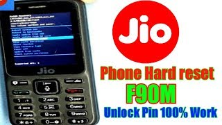 jio phone hard reset | Unlock pin f90m 100% work | hard reset