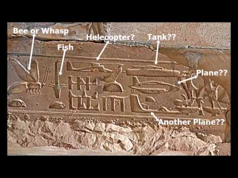 The Fake Science regarding some Egyptian hieroglyphs