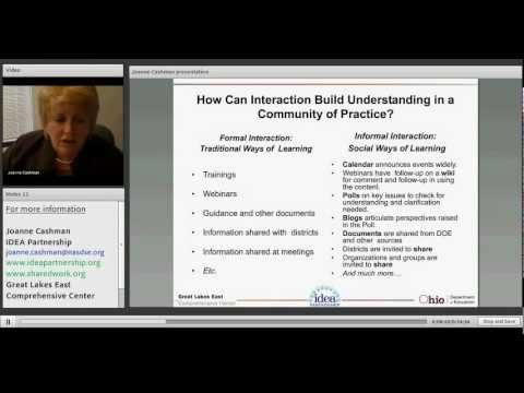 Successful Community Building: The IDEA Partnership Approach