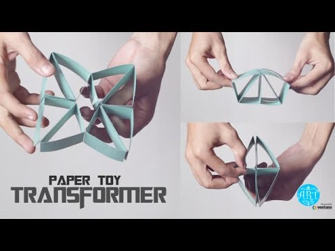 Arts & Craft: Paper Toy Transformer