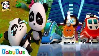 Tim Penyelamat Kereta | Lagu Anak-anak | BabyBus Bahasa Indonesia