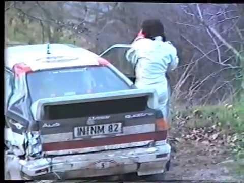 Rallye de Monte-Carlo 1983 et sortie de route de Michèle Mouton
