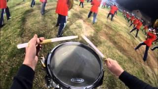 AHS Drumline 2012 Snare Cam