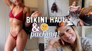 HUGE BIKINI HAUL & PACK FOR BALI WITH ME | WHAT'S IN MY SUITCASE
