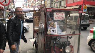 Efsane Sokak Lezzeti Kelle Söğüş| İstanbul Sokak L