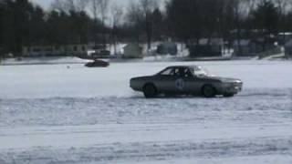 Corvair Ice Racing at Turk Lake VII