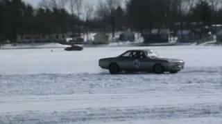 Corvair Ice Racing at Turk Lake VII