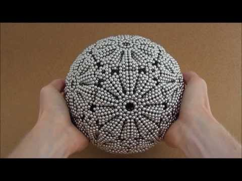 Giant Truncated Dodecahedron Sphere (Zen Magnets)